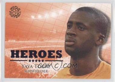2010 Futera World Football Unique - Heroes #HER94 - Yaya Toure