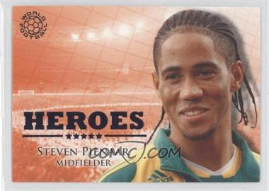 2010 Futera World Football Unique Heroes #HER88 - Steven Pienaar