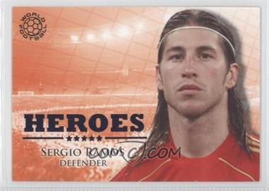 2010 Futera World Football Unique Heroes #HER90 - Sergio Ramos