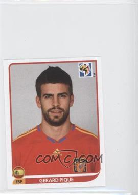 2010 Panini FIFA World Cup South Africa Album Stickers - [Base] #566 - Gerard Pique