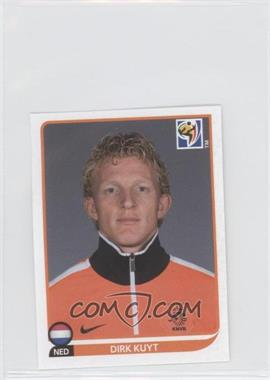 2010 Panini FIFA World Cup South Africa Album Stickers #351 - Dirk Kuyt