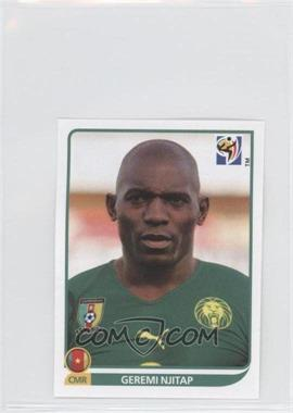 2010 Panini FIFA World Cup South Africa Album Stickers #396 - Geremi Njitap
