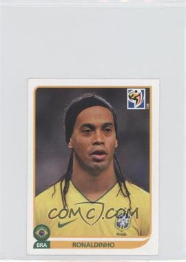 2010 Panini FIFA World Cup South Africa Album Stickers #500 - Ronaldinho