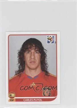 2010 Panini FIFA World Cup South Africa Album Stickers #565 - Carles Puyol