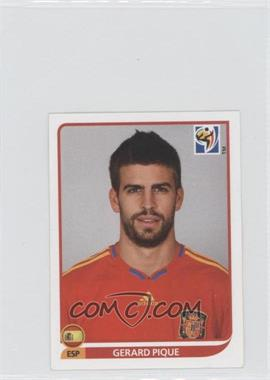 2010 Panini FIFA World Cup South Africa Album Stickers #566 - Gerard Pique