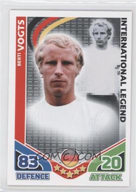 2010 Topps Match Attax International Legends #BEVO - International Legend - Berti Vogts