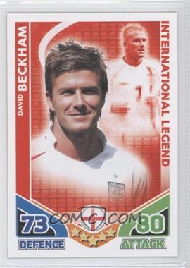 2010 Topps Match Attax International Legends #DABE - International Legend - David Beckham