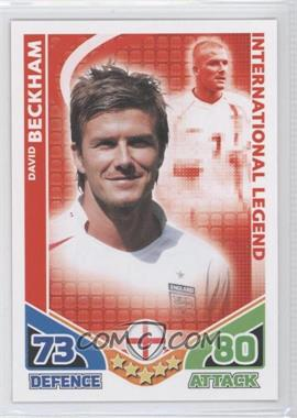 2010 Topps Match Attax International Legends #N/A - David Beckham