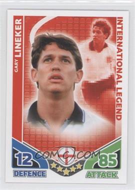 2010 Topps Match Attax International Legends #N/A - Gary Lineker