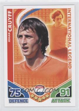 2010 Topps Match Attax International Legends #N/A - Johan Cruyff
