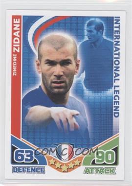 2010 Topps Match Attax International Legends #ZIZI - International Legend - Zinedine Zidane
