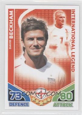 2010 Topps Match Attax South Africa World Cup UK Edition - International Legend #DABE - David Beckham