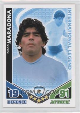 2010 Topps Match Attax South Africa World Cup UK Edition - International Legend #DIMA - Diego Maradona