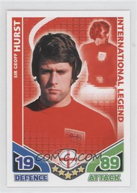 2010 Topps Match Attax South Africa World Cup UK Edition - International Legend #GEHU - Sir Geoff Hurst