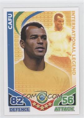 2010 Topps Match Attax South Africa World Cup UK Edition International Legend #CAFU - Cafu