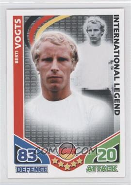 2010 Topps Match Attax South Africa World Cup UK Edition #BEVO - International Legend - Berti Vogts
