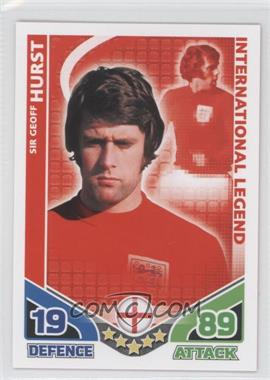 2010 Topps Match Attax South Africa World Cup UK Edition #GEHU - International Legend - Sir Geoff Hurst