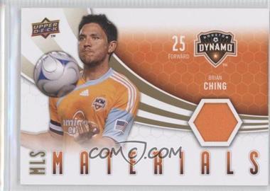 2010 Upper Deck - MLS Materials #M-BC - Brian Ching