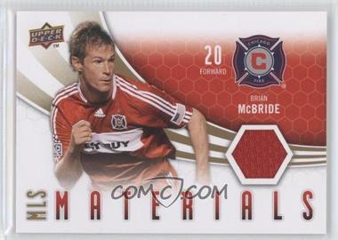 2010 Upper Deck - MLS Materials #M-BM - Brian McBride