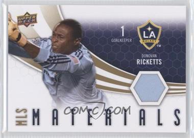 2010 Upper Deck - MLS Materials #M-DR - Donovan Ricketts