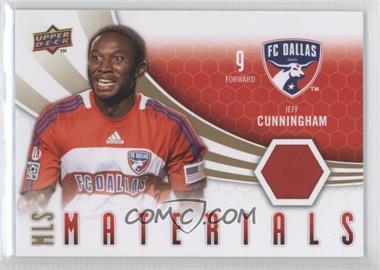 2010 Upper Deck - MLS Materials #M-JC - Jeff Cunningham
