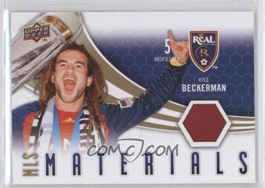 2010 Upper Deck - MLS Materials #M-KB - Kyle Beckerman