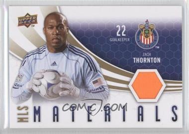 2010 Upper Deck - MLS Materials #M-ZT - Zach Thornton