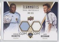 David Beckham, Donovan Ricketts /65
