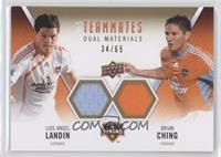 Luis Angel Landin, Brian Ching /65