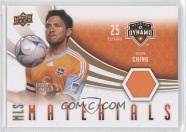 2010 Upper Deck MLS Materials #M-BC - Brian Ching