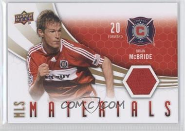 2010 Upper Deck MLS Materials #M-BM - Brian McBride