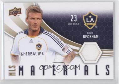 2010 Upper Deck MLS Materials #M-DB - David Beckham