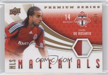 2010 Upper Deck MLS Materials #M-DD - Dwayne De Rosario