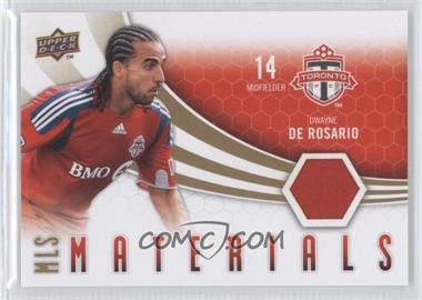 2010 Upper Deck MLS Materials #M-DD - Dwayne De Rosario