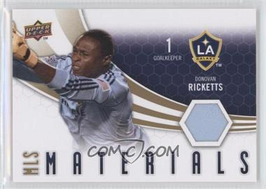 2010 Upper Deck MLS Materials #M-DR - Donovan Ricketts