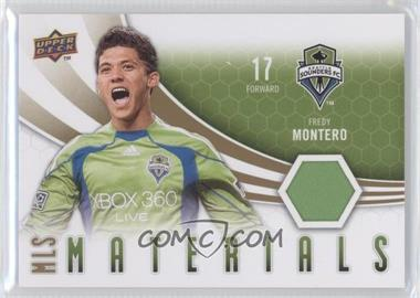 2010 Upper Deck MLS Materials #M-FM - Fredy Montero