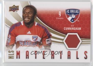 2010 Upper Deck MLS Materials #M-JC - Jeff Cunningham