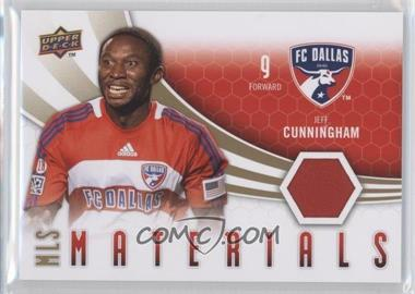 2010 Upper Deck MLS Materials #M-JC - Jeff Cunningham