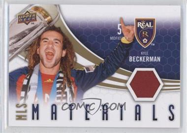 2010 Upper Deck MLS Materials #M-KB - Kyle Beckerman