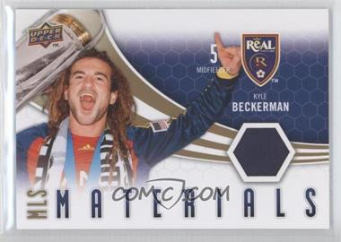 2010 Upper Deck MLS Materials #M-KB - Kyle Beckerman