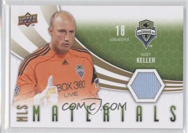 2010 Upper Deck MLS Materials #M-KK - Kasey Keller