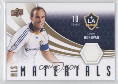 2010 Upper Deck MLS Materials #M-LD - Landon Donovan