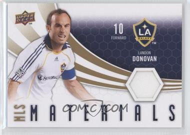 2010 Upper Deck MLS Materials #M-LD - Landon Donovan