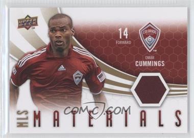 2010 Upper Deck MLS Materials #M-OC - Omar Cummings