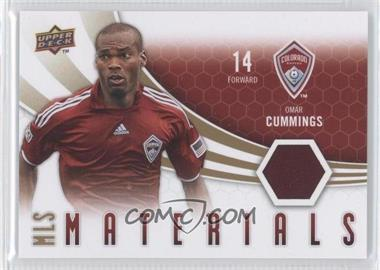 2010 Upper Deck MLS Materials #M-OC - Omar Cummings