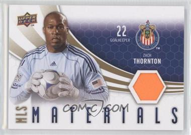 2010 Upper Deck MLS Materials #M-ZT - Zach Thornton