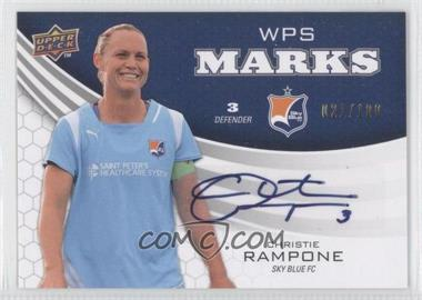 2010 Upper Deck WPS Marks #WM-CR - Christie Rampone /100