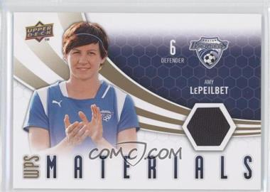 2010 Upper Deck WPS Materials #W-AL - Amy LePeilbet