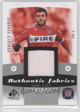 2011 SP Game Used Edition Authentic Fabrics #AF-GS - Gonzalo Segares