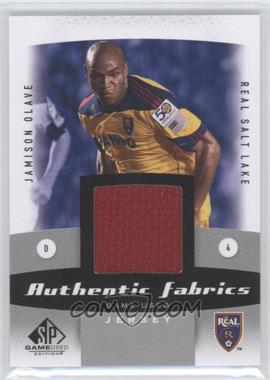 2011 SP Game Used Edition Authentic Fabrics #AF-JO - Jamison Olave